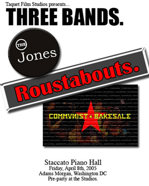 communist bakesale and the jones at staccato