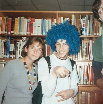 mat's trip to the library in high school with annie and greg - age 17