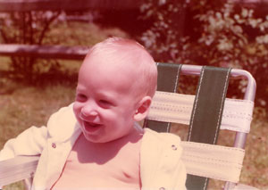 mat as a cute lil' baby...gosh i loved being a child...