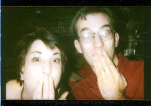 stacey and al - izone - taken prolly in the fall of 2000...long live the powers of the AL-NESS MONSTER